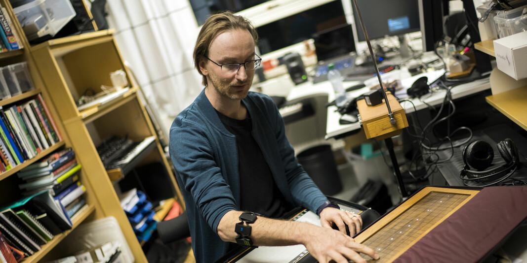 Rytmeforskningsinstituttet RITMO på Universitetet i Oslo, er et av sentrene for fremragende forskning (SFF) som har finansiering fra Forskningsrådet, her ved senterets nestleder Alexander Refsum Jensenius. Nå er SFF-ordningen evaluert.