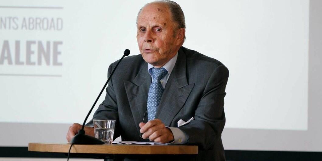 Ragnar Evensen jr var ANSAs første formann. Han døde nylig, 87 år gammel.