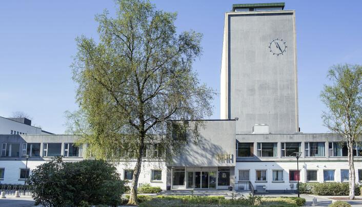 Ved Norges handelshøyskole: var smittetallet 117 fredag ettermiddag.