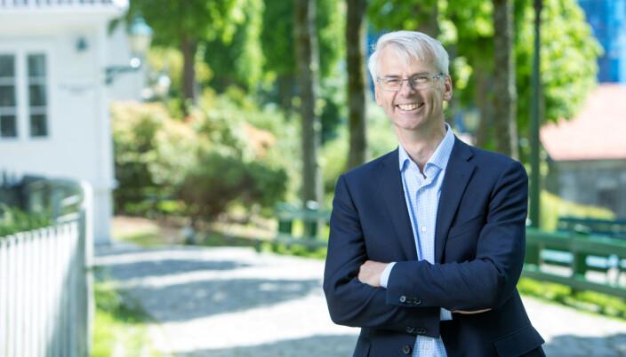 Rektor Øystein Thøgersen synes at regnskap bør være korrekte, spesielt på NHH.