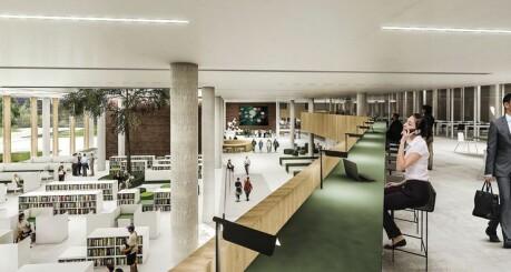 Nye kontorer vil ha innebygd «smitteapp»