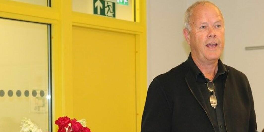 Dronning Mauds Minne Høgskole for barnehagelærerutdanning(DMMH) vil prioritere at studentene som hovedregel skal være på campus til høsten., sier rektor Hans-Jørgen Leksen.