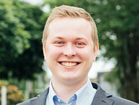 Studentleder ved UiS, Philip Lundberg Jamissen, opplever at det god dialog mellom studentene og ledelsen.