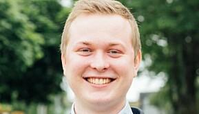 Philip Lundberg Jamissen er valgt som ny leder for arbeidsutvalget i Studentorganisasjonen StOr ved UiS.