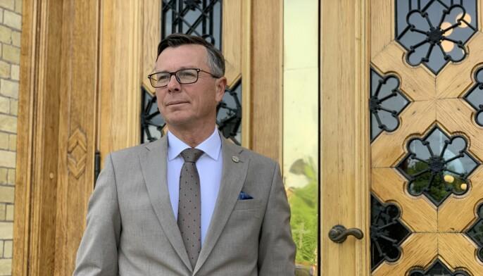 Universitet- og høgskolerådets leder, Dag Rune Olsen, peker på at krisepakken leverte vesentlig mindre penger enn rådet hadde håpet på.
