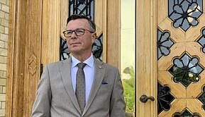 Dag Rune Olsen, rektor ved UiB .