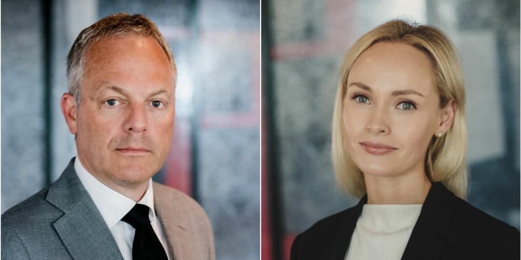 Administrerende direktør Øystein Eriksen Søreide og leder for utdanning og forskning, Ingrid Somdal-Åmodt Vinje, i Abelia har forventninger til den nye tiltakspakken fra regjeringen.