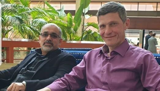 Aihan Jaf og Mahmoud Shaaban var på plass på Radisson Blu Resort hotell i Sharjah, noen dager før konferansen deres gikk av stabelen.