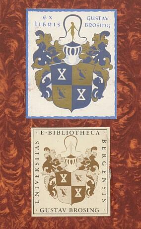 Det er samleren Gustav Brosing vi kan takke for at vi har Bergens Stiftstidende i våre samlinger.