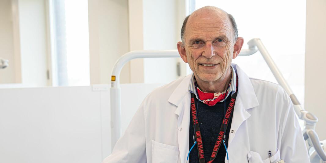 Dekan Pål Barkvoll ved Det odontologiske fakultet ser alvorlig på situasjonen.