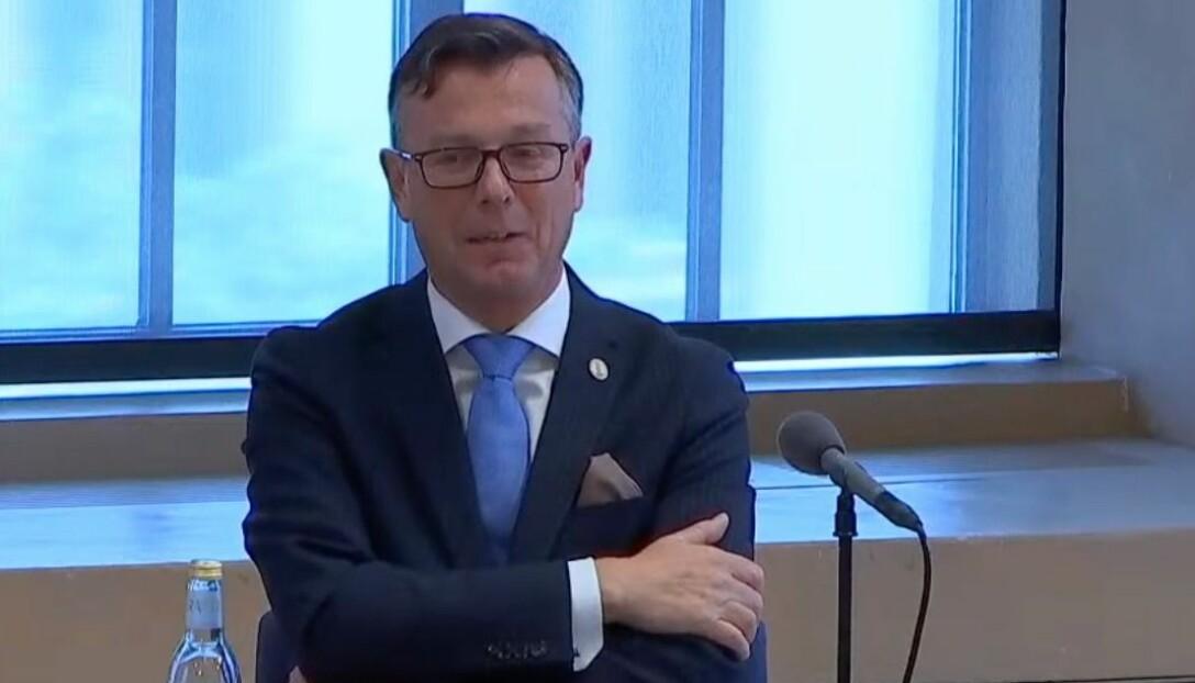 Rektor Dag Rune Olsen gikk på et nederlag i universitetsstyret.