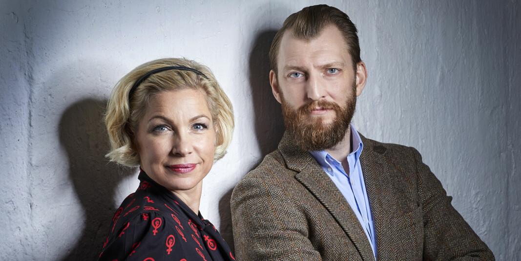 Anna-Karin Wyndhamn og Ivar Arpi har skrevet boka «Genusdoktrinen».