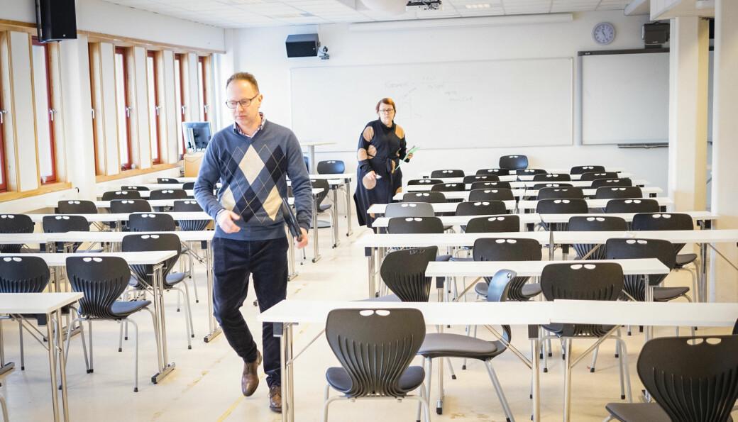 Førsteamanuensie Øyvind Eikrem er den foreløpig siste på en stadig lengre liste over avskjedigede i akademia