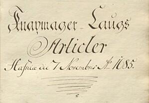 Første side av Christian Vs forordning datert 7. november 1685 fra ubb-ms-167-69-a