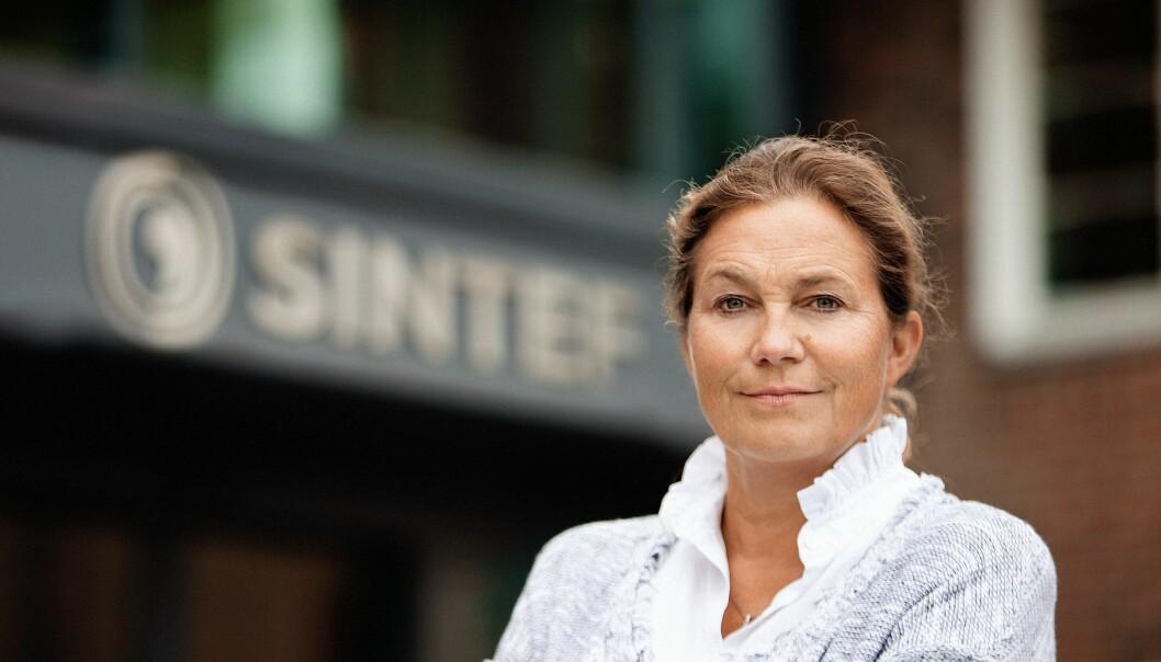 Sintef, her ved konsernsjef Alexandra Bech Gjørv, er øverst på lista over hvor mye fra EUs rammeprogram som går til norske aktører.