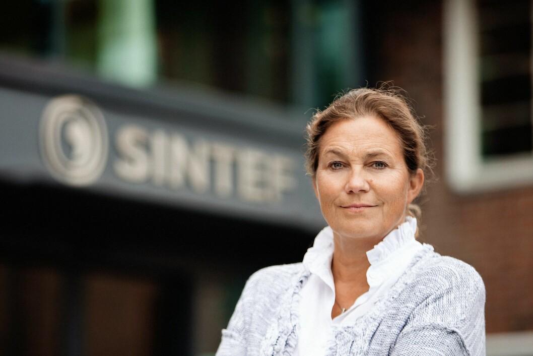Sintef, her ved konsernsjef Alexandra Bech Gjørv, er den enkeltaktøren som har hentet ut mest EU-midler - 188 millioner euro.