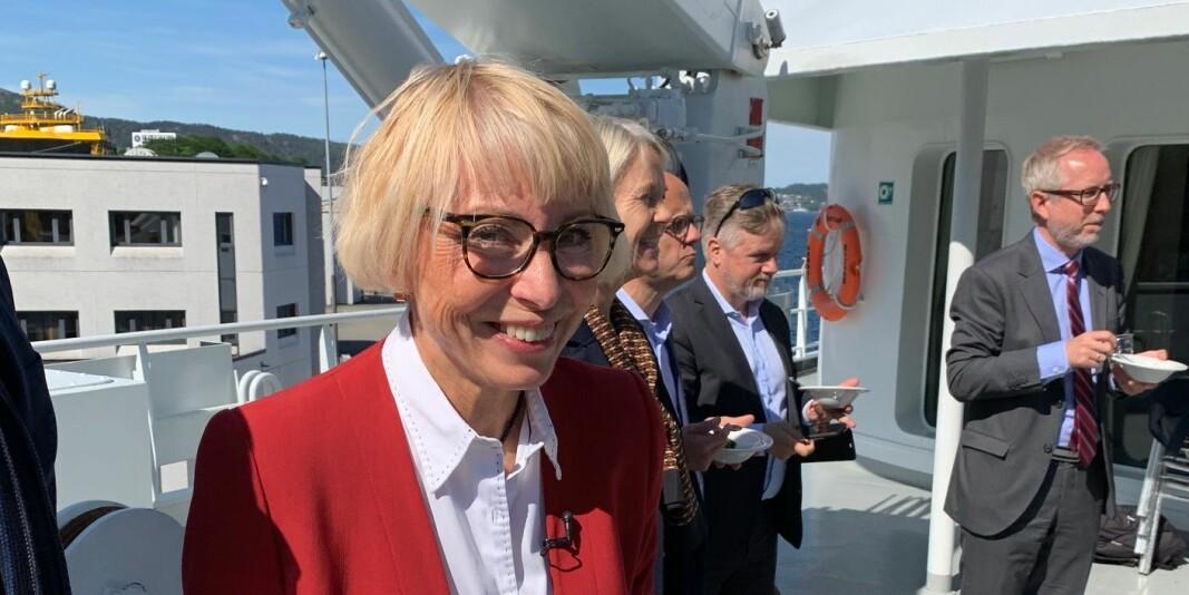 Havforskningsdirektør Sissel Rogne mener den kraftig forskningsinteressen rundt deres fagfelt kan resultere i at ressurser brukes på dobbeltarbeid.