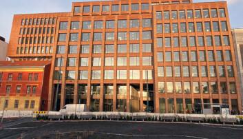 Senter for menneskerettigheter holder til på det nye bygget til Det juridiske fakultet, Domus Juridica.