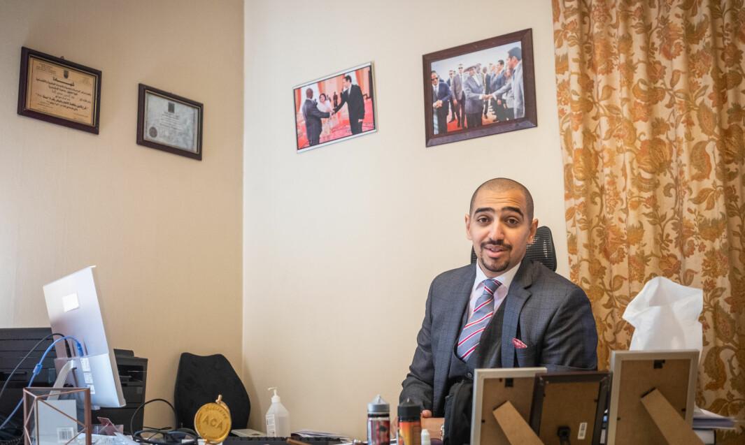 Nour El-Bana konsul ved den egyptiske ambassaden i Oslo.