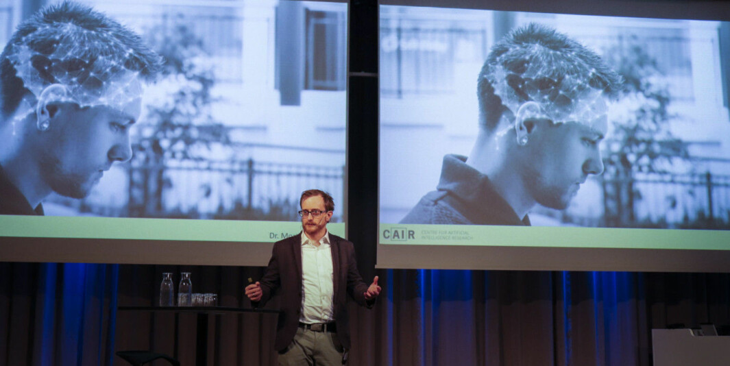 Morten Goodwin ved Universitetet i Agder er blant de som sier han nyter godt av Nora-samarbeidet.