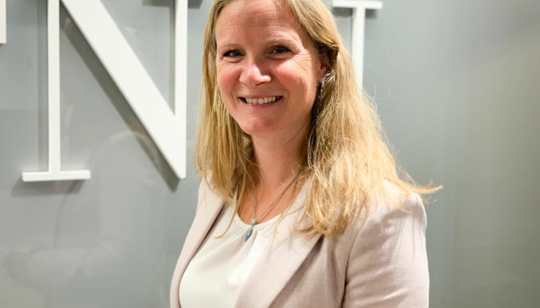 Mari Sundli Tveit, direktør for politikk i NHO. Sammen med Forskningsrådet krever NHO mer penger til innovasjon og forskning neste år.