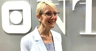 Rektor Anne Borg ved NTNU