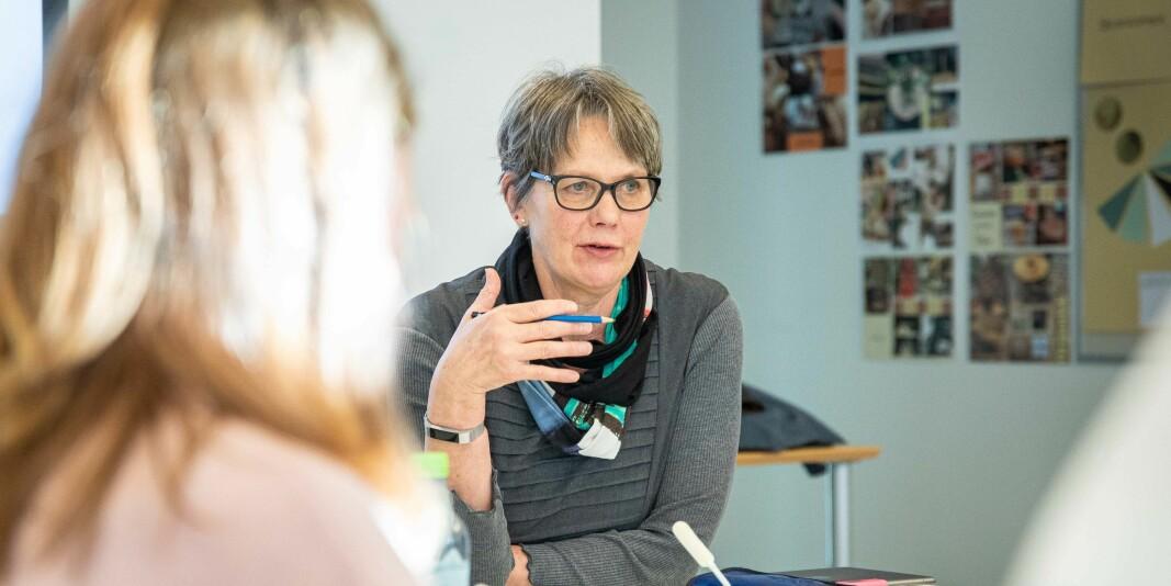 Styreleder Trine Syvertsen ved OsloMet var en del av flertallet i styret som sa nei til avtalen som var forhandlet fram med gårdeier Hemfosa på Kjeller. Nå må OsloMet forberede seg på rettssak.