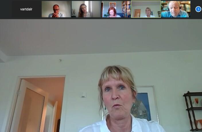 Organisasjonsdirektør Ida Munkeby beklaget glippen etter at Melum Eide og Torvatn påpekte hva som hadde skjedd.