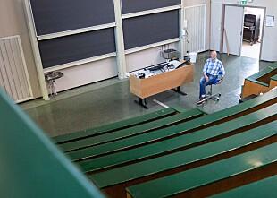 24.06.2020 - Knut  Mørken er professor i matematikk ved Universitetet i Oslo, og visedekan for utdanning ved Det matematisk-naturvitenskapelige fakultet (UiO) Foto: Siri Øverland Eriksen
