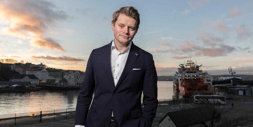 Peter Frølich, stortingsrepresentant for Høyre — og bergenser.