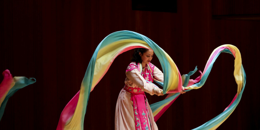 Siden 2004 er det opprettet over 500 konfutseinstitutter. Her er Carrie Feyerabend fra Confucius Institute of Chinese Opera (CICO) ved Binghamton University (BU) i en forestilling fra november 2018.