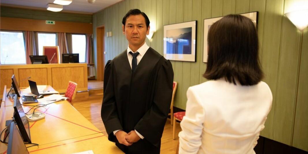 Advokat Ole Marius Leirvåg forsvarte den 23 år gamle studenten i Romsdal tingrett i førre veke.