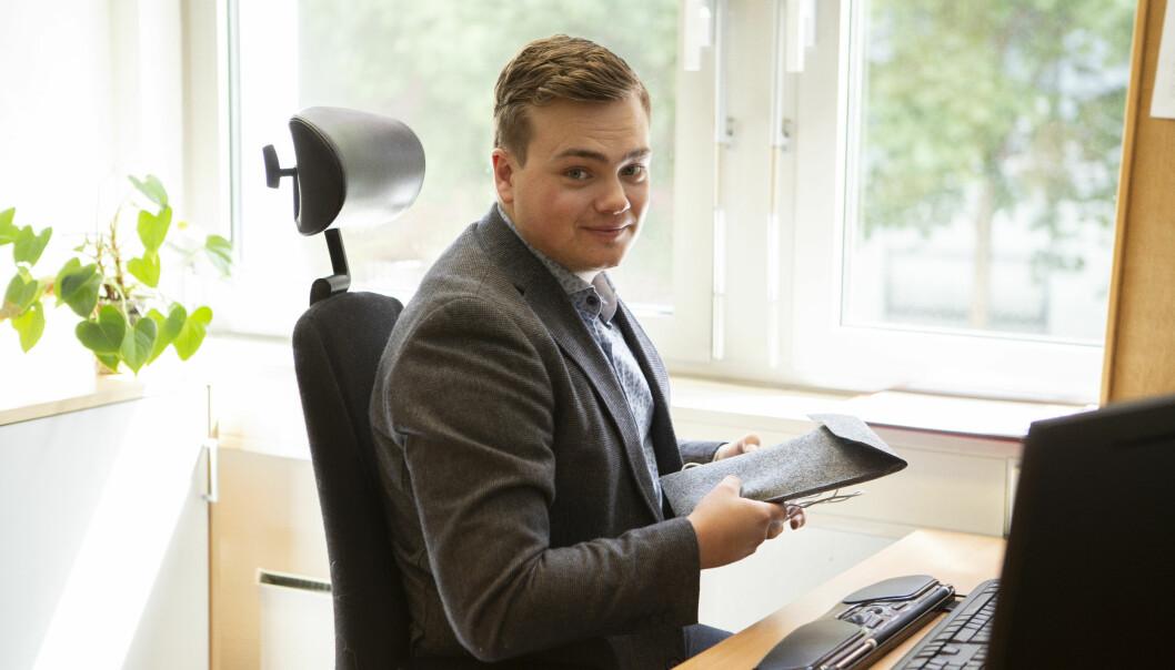 — Det er en del ting sektoren må gå i seg selv på, sier ny leder av Norsk studentorganisasjon, Andreas Trohjell.