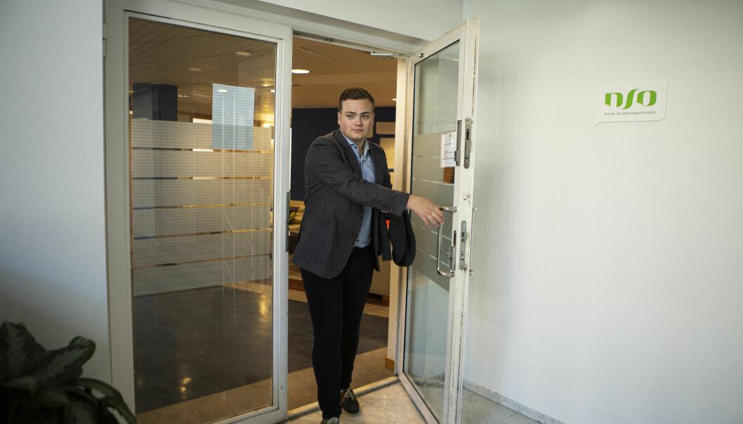 Leder Andreas Trohjell og Norsk studentorganisasjon har fått med seg 18 andre organisasjoner når de nå fremmer krav i forkant av høstens stortingsvalg.