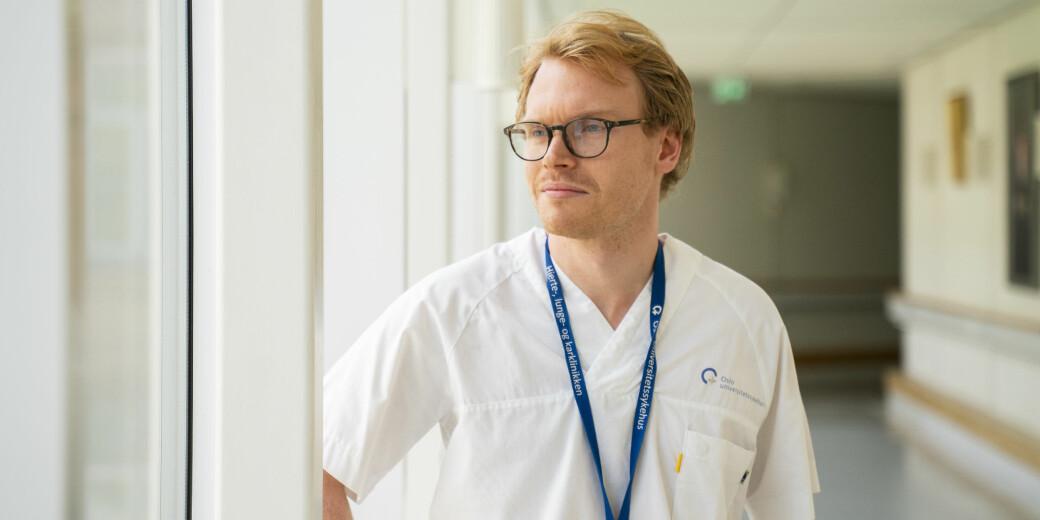 Markus Borge Harbo (24) vil helst arbeide med mange ulike prosjekter samtidig, og betegner seg selv som en litt rastløs person.