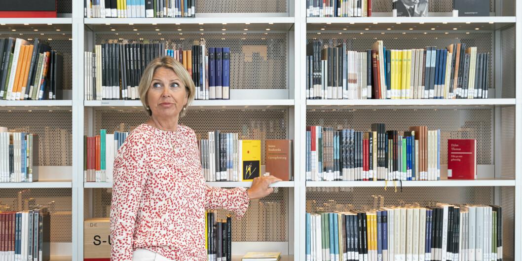 — Jeg synes det er både riktig og viktig å stille strenge krav til kvalitet, når samfunnet bruker såpass mye ressurser på høyere utdanning og forskning, sier Kristin Vinje.