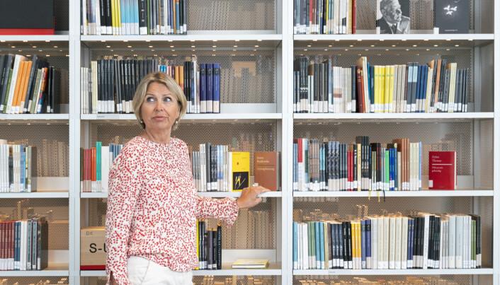 Kristin Vinje, direktør for Nokut, er bekymra for svake matematikk-resultater.