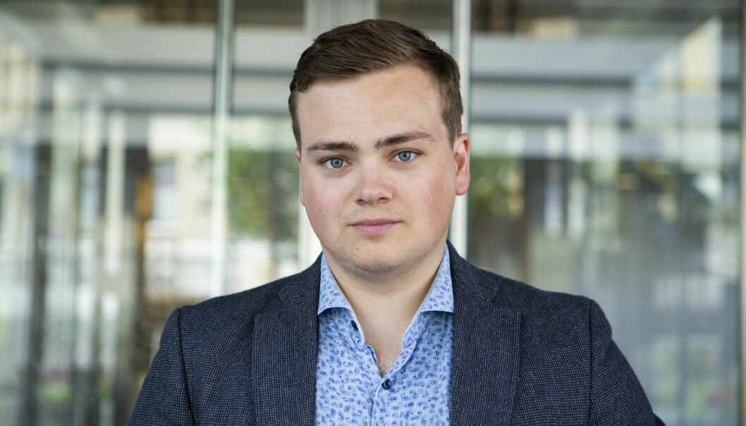 Andreas Trohjell leder Norsk studentorganisasjon.
