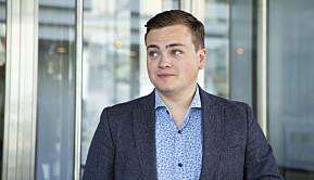 Andreas Trohjell. leder i Norsk studentorganisasjon.