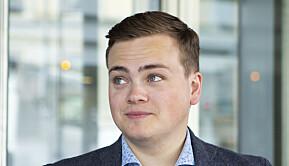 Leder av Norsk studentorganisasjon, Andreas Trohjell