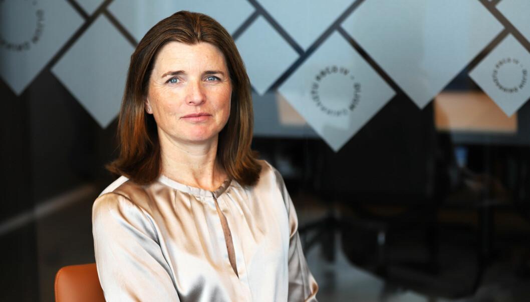 Administrerende direktør i Lånekassen, Nina Schanke Funnemark.