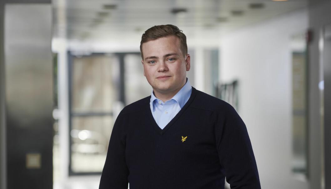 Andreas Trohjell (23) har bestemt seg for at eitt år som leiar for NSO er nok. Han flytta til Oslo i fjor sommar, og har sidan det hatt mykje heimekontor.