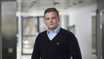 Andreas Trohjell, leiar Norsk studentorganisasjon (NSO).