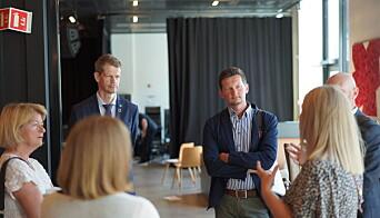 Prorektor ved NMBU, Solve Sæbø og avdelingsdirektør i Unit, Terje Mørland mener det er større usikkerhet ved institusjonene i år som følge av koronaviruset.