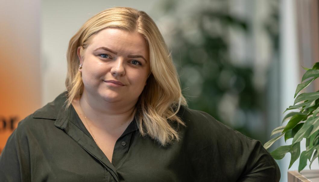 Elise Håkull Klungtveit er leder av Pedagogstudentene i Utdanningsforbundet.