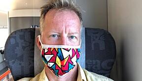 Curt Rice har etterspurt et påbud om munnbind i undervisningssituasjoner.