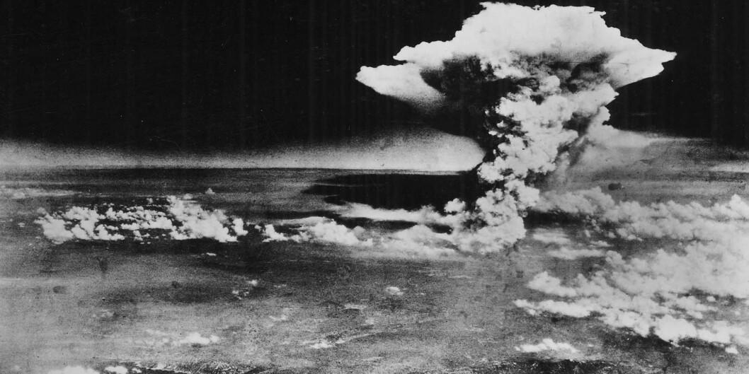 Litt over kl 8 om morgenen den 6. august 1945 kom det amerikanske bombeflyet Enola Gay inn over den japanske byen Hiroshima.