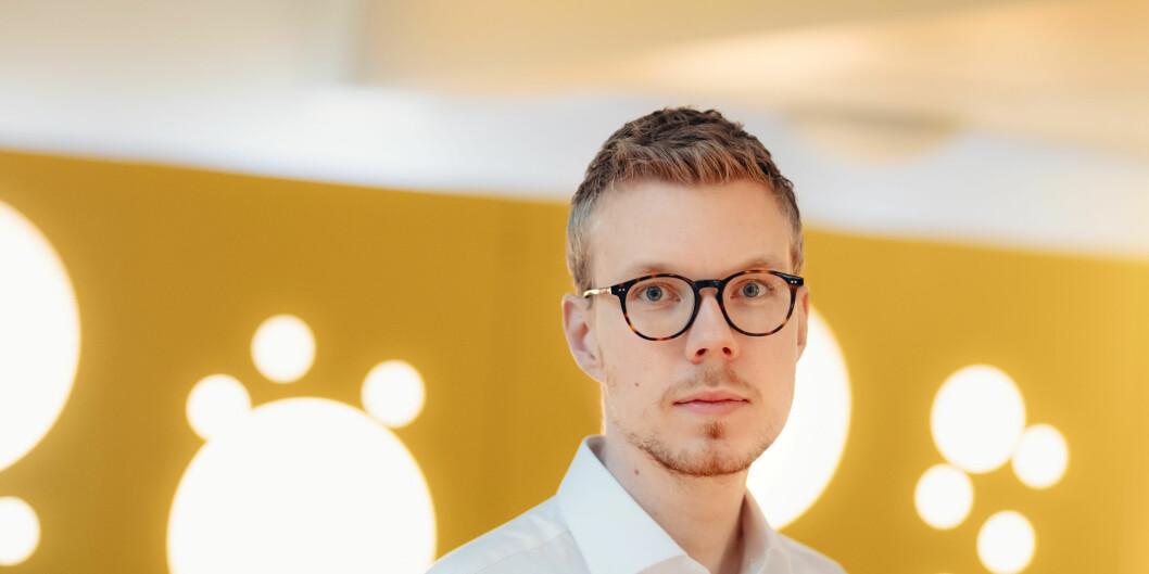 Sjef for internasjonal seksjon Tobias Judin i Datatilsynet.