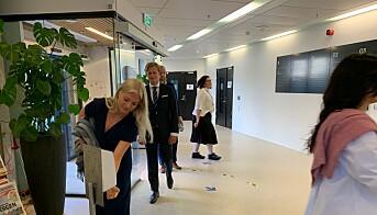 Marie Galtung Døsvig klar for immatrikulering ved NHH.
