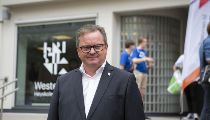 Rektor ved Høyskolen Kristiania, Arne Krumsvik.